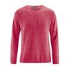 pullover coton biologique LZ368_rouge_tomate