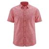 chemisette chanvre coton bio DH040_rouge_tomate