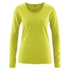 t-shirt manches longues bio DH861_vert_pomme