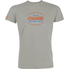 T-shirt OVIVO Be the change-gris opal-man
