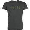 T-shirt OVIVO Cactus-gris persan-man