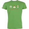 T-shirt OVIVO Faune Bien-Etre Flore-vert bambou-man