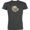 T-shirt OVIVO Fossile beige-gris persan-man