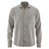 chemise HempAge DH044_gris_pierre_chiné