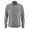 chemise bio éthique DH044_bleu_ciel_dhiver_chiné