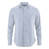 chemise bio chanvre DH023 uniblue Bleu uni (corps) Bleu-blanc rayé (col intérieur)