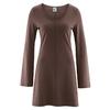 robe tunique bio DH866_chocolat