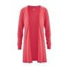 gilet bio DH296_rouge tomate