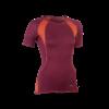 t-shirt bio femme 150201120_rouge_tango