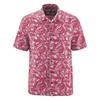 chemisette coton bio chanvre DH048_rouge_sangria
