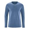 t-shirt homme ethique DH833_blueberry