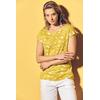 t-shirt chanvre coton biologique femme DH886