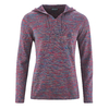 t-shirt capuche LZ309_sangria-blueberry-taupe