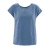 blouse bio DH164_bleu_baie