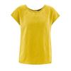 t-shirt chanvre femme DH164_jaune_curry