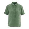blouse chanvre DH165_vert_herbe