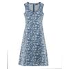 robe imprimée DH167_bleu_baie