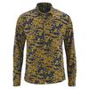 chemise homme ecoresponsable DH051_peanut-navy