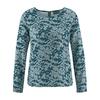 t-shirt coton imprimé DH170_aloe-deep