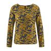 t-shirt ecologique femme DH170_peanut-navy