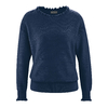 pull col volant LZ312_navy
