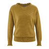 pullover femme chanvre LZ312_peanut