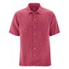 chemise bio equitable chanvre DH052_rouge_sangria