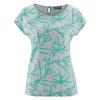 t-shirt femme coton biologique DH892_emeraude