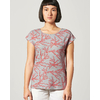 t-shirt lin DH892_orange_crabe