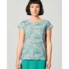 t-shirt femme Hempage DH892_emeraude