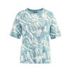 t-shirt bio imprimé DH663_wave