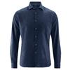 chemise chanvre avec poche DH035_navy