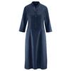robe coton bio DH187_navy