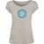 T-shirt Modal OVIVO Fleur Mandala-gris perle