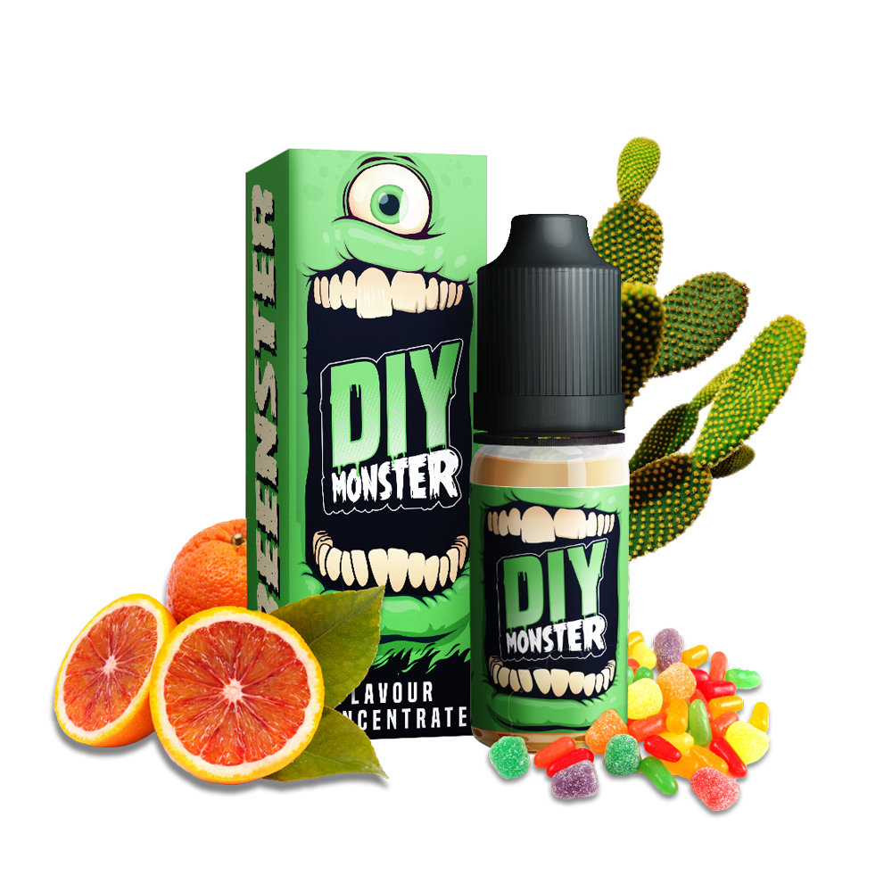 CONCENTRÉ GREENSTER - DIY MONSTER