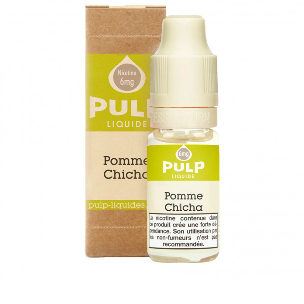 POMME CHICHA  10ML - PULP - FRC