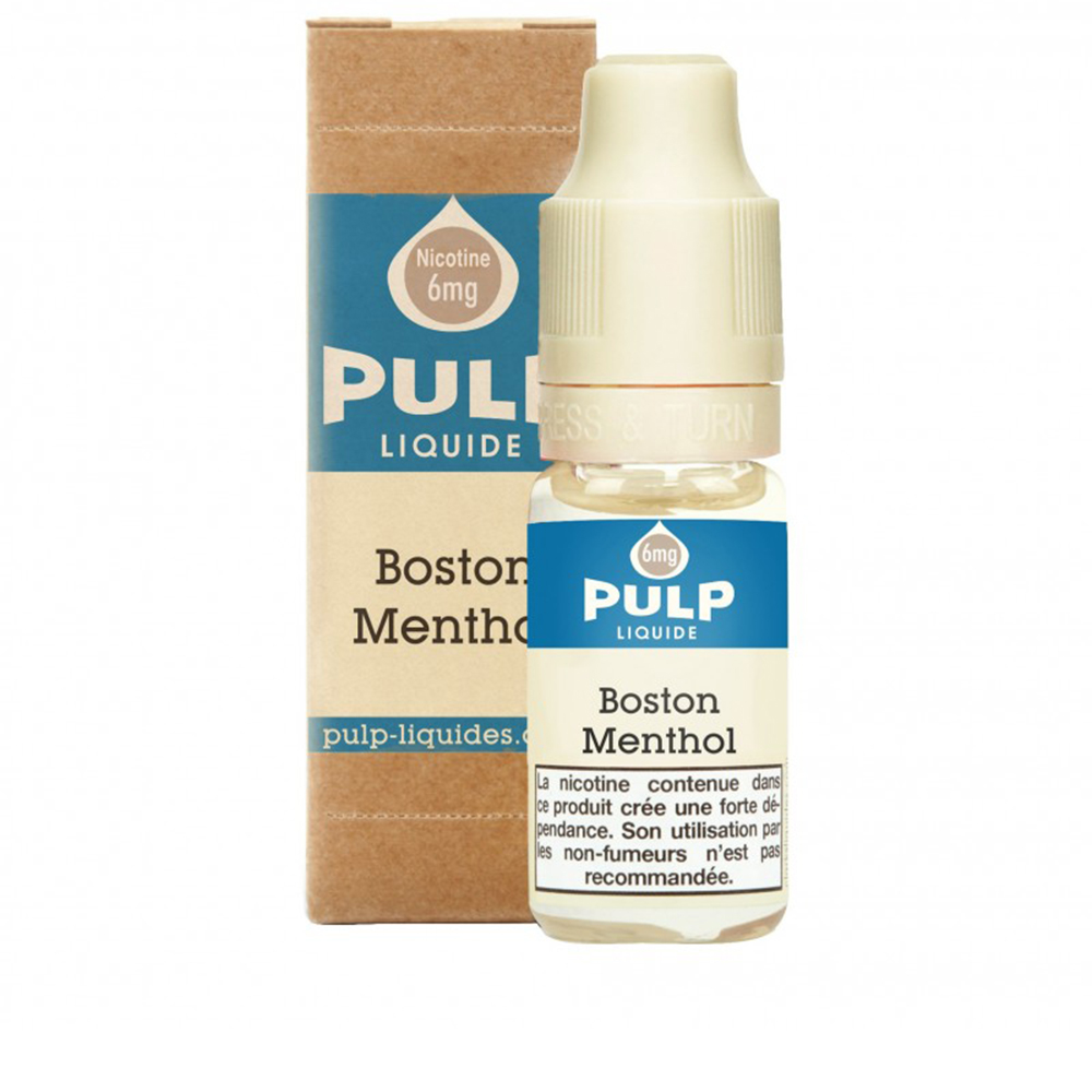 BOSTON MENTHOL 10ML - PULP - FRC