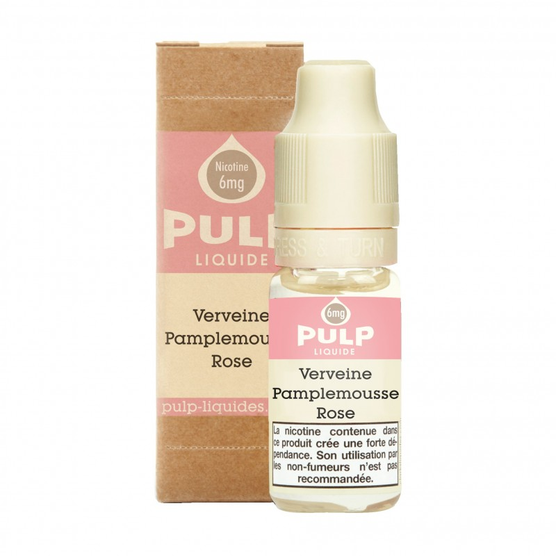 VERVEINE PAMPLEMOUSSE ROSE 10ML - PULP - FRC