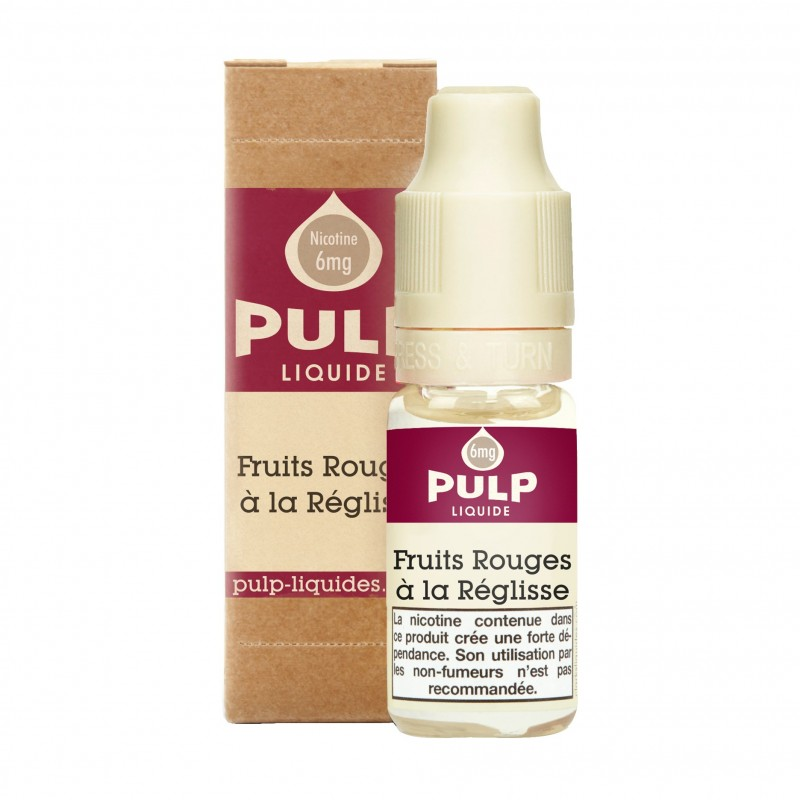 FRUITS ROUGES A LA RÉGLISSE 10ML - PULP - FRC