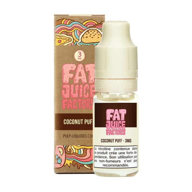 COCONUT PUFF - 10ML - FRC - FAT JUICE FACTORY BY PULP