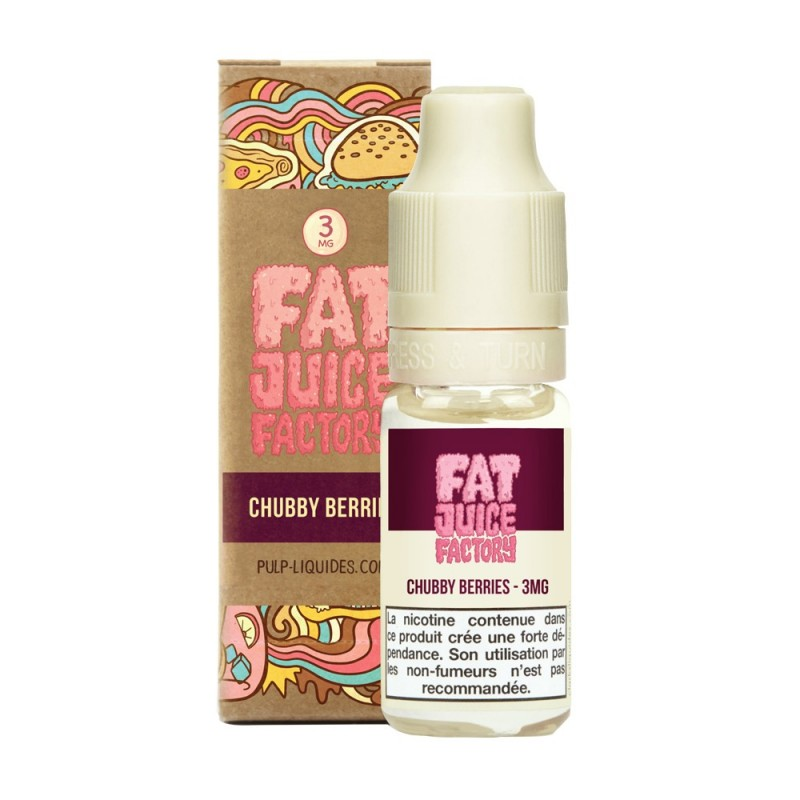 CHUBBY BERRIES - 10ML - FRC - FAT JUICE FACTORY BY PULP