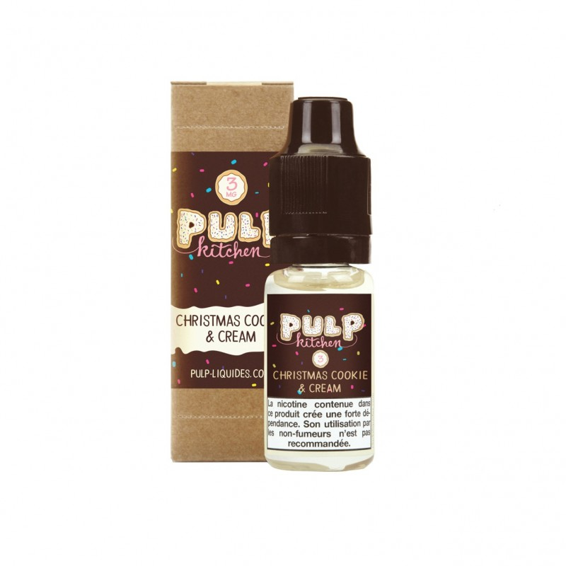 CHRISTMAS COOKIE & CREAM - 10ML - FRC - PULP KITCHEN