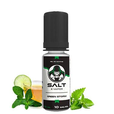 GREEN STORM -SALT E-VAPOR - FRENCH LIQUIDE