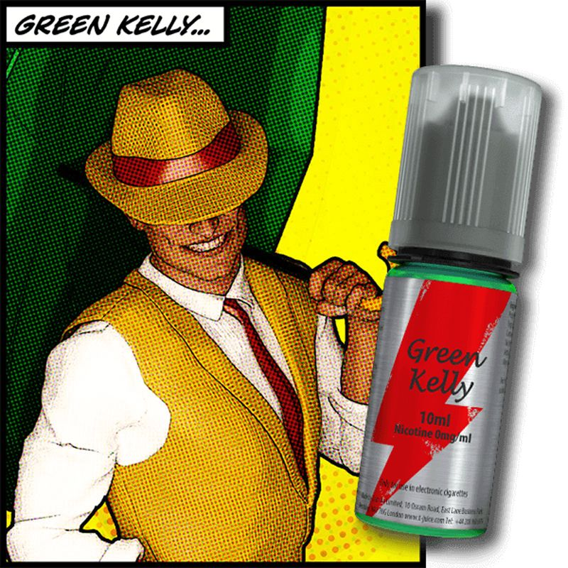 E-LIQUIDE GREEN KELLY 10ML PAR T-JUICE