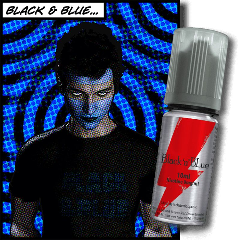 E-LIQUIDE BLACK N BLUE 10ML PAR T-JUICE