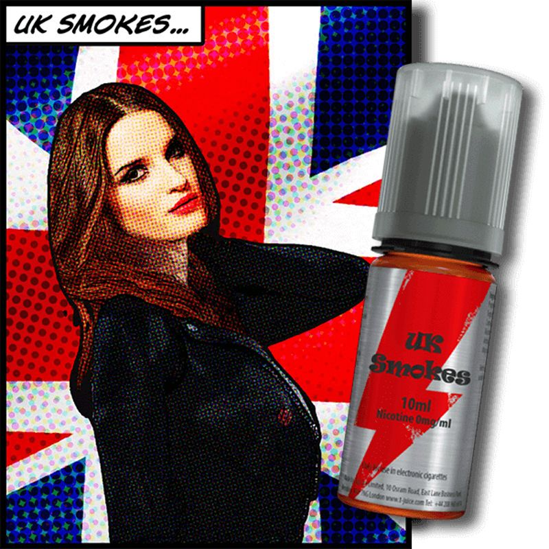 E-LIQUIDE UK SMOKES 10ML PAR T-JUICE