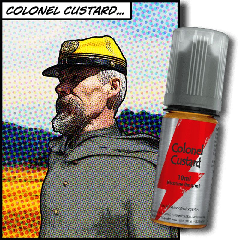 E-LIQUIDE COLONEL CUSTARD 10ML PAR T-JUICE