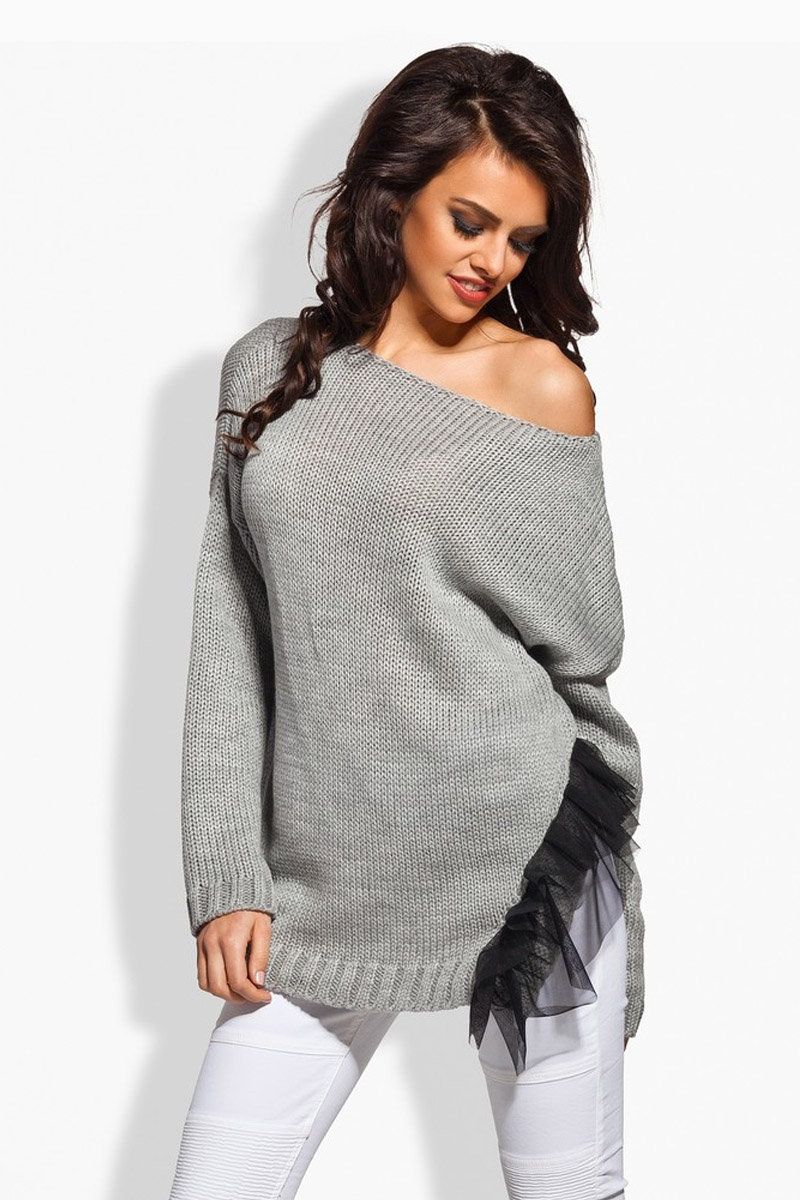Top pull L165 gris