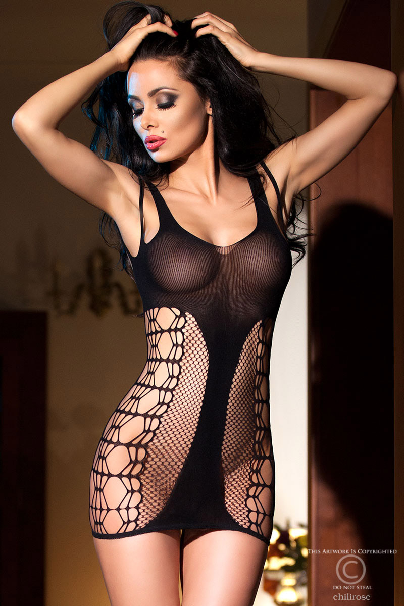 Robe lingerie CR4054