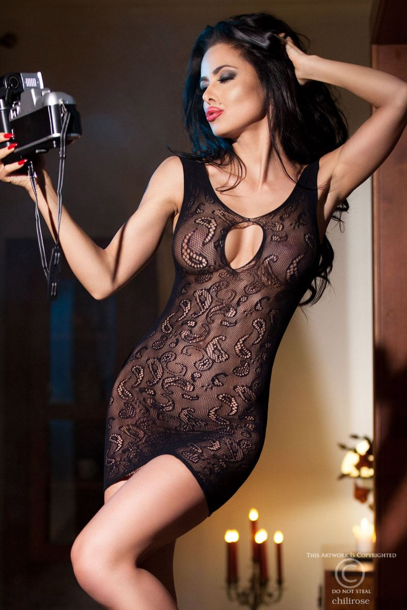 Robe lingerie CR4056